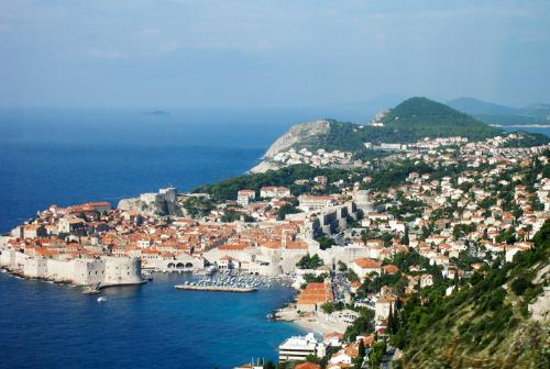 View of the coastline, Dubrovnik