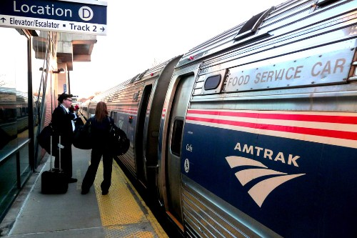 "Amtrak's Maple Leaf switching crew at Albany Rensselaer station, Rensselaer, New York. Photo by <a href=""http://www.flickr.com/photos/pranavbhatt/5722019070/"" target=""_blank"">Pranav Bhatt/Flickr.com</a>."