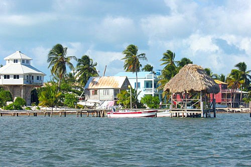 Caye Caulker in Belize, is known as the Go Slow island