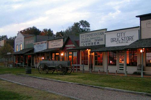 Boot Hill, Dodge City. Courtesy Dodge City Convention & Visitors Bureau