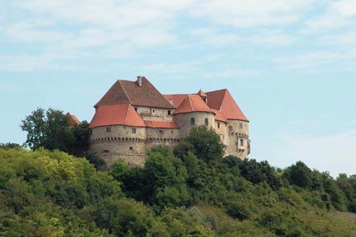 Veliki Tabor Castle in Croatia.
