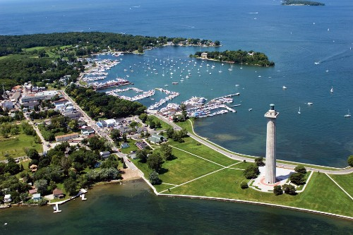 Put-in-Bay, South Bass Island, Ohio.