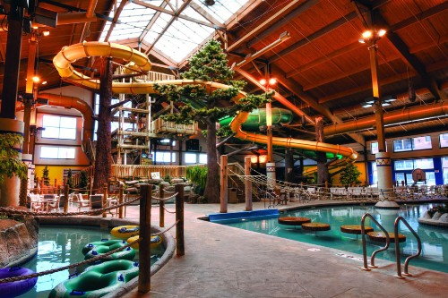 Lazy Canyon River, Grand Geneva Resort, Wisconsin.