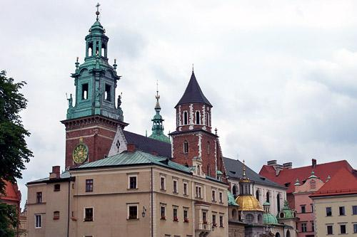 Wawel Cathedral in Krakow.