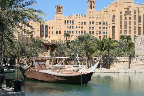 View from Souk Medinat Jumeirah, Dubai