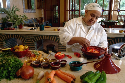 Cooking classes at La Maison Arabe Hotel in Marrakech teach traditional Moroccan cuisine. Photo: Courtesy La Maison Arabe