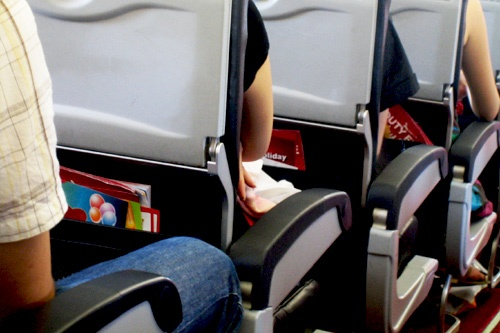 All is in order on an AirAsia flight.