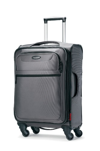 "Samsonite's Lift 21 inch spinner luggage, $300. <a href=""http://shop.samsonite.com/Samsonite-Lift-21-Spinner-Luggage/dp/B004UKD6XY?ie=UTF8&field_availability=-1&searchKeywords=lift&field_keywords=lift&class=quickView&searchRank=salesrank&field_product_site_launch_date_utc=-1y&id=Samsonite%20Lift%2021%20Spinner%20Luggage&field_browse=2235433011&searchSize=12&searchPage=1&searchNodeID=2235433011&refinementHistory=brandtextbin%2Csubjectbin%2Ccolor_map%2Cprice%2Csize_name&searchBinNameList=brandtextbin%2Ccolor_map%2Cprice%2Csize_name"" target=""_blank"">www.samsonite.com</a>."