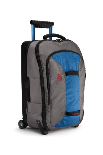 "Checkpoint 22 Travel Bag by Timbuk2, $250. <a href=""http://www.ems.com/product/index.jsp?productId=10763121&cp=3712723.3718524"" target=""_blank"">www.ems.com</a>."