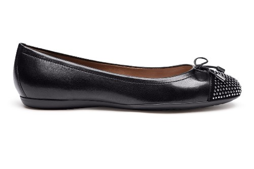 "Lola leather ballet flats by Geox, $130. <a href=""http://www.shopgeox.com/Item.aspx?ProductID=2816&refURL=gcs target=""_blank"">www.geox.com</a>."