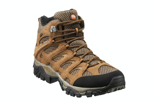 "Moab Mid waterproof hiking boots by Merrell, $109. <a href=""http://www.dickssportinggoods.com/product/index.jsp?productId=10995157"" target=""_blank"">www.dicksportinggoods.com</a>."