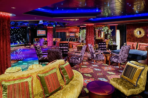 Norwegian Pearl's Bliss Ultra Lounge