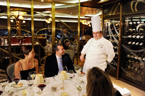 Adults-only dining at Remy, Disney Dream's premier restaurant.