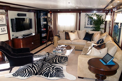 One of the owner's suites aboard Oceania's Marina.