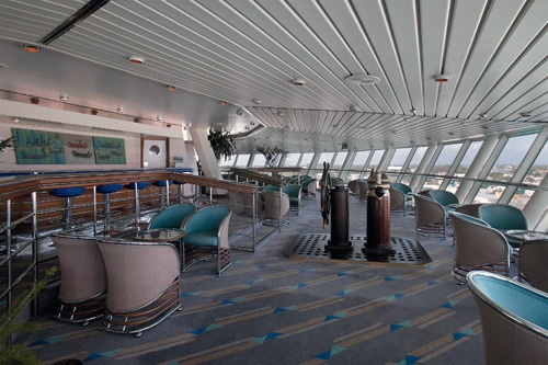 Viking Crown Lounge aboard Royal Caribbean's Majesty of the Seas.