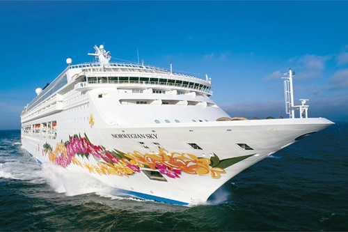 The Norwegian Sky. Photo: Norwegian Cruise Line