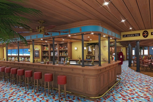 Carnival Magic's RedFrog Pub. Photo: Courtesy of Carnival Cruise Lines