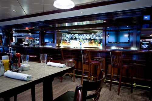 O'Sheehan's Neighborhood Bar & Grill on NCL's Norwegian Epic. Photo: Courtesy of Norwegian Cruise Line