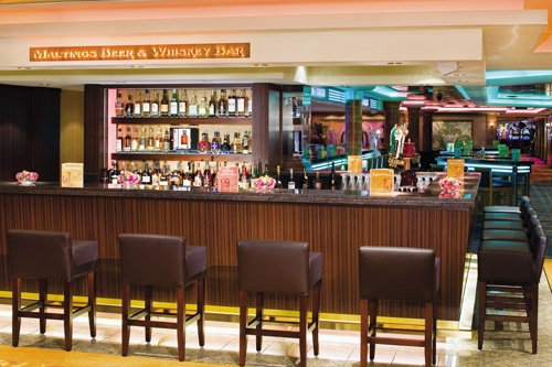 Maltings Beer and Whiksey Bar on NCL's Norwegian Gem. Photo: Courtesy of Norwegian Cruise Line