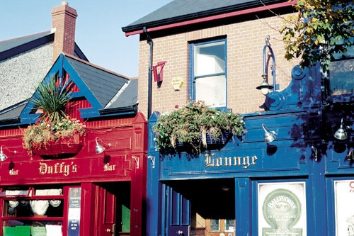 A colorful Dublin pub. Photo: Courtesy Celebrity Cruises