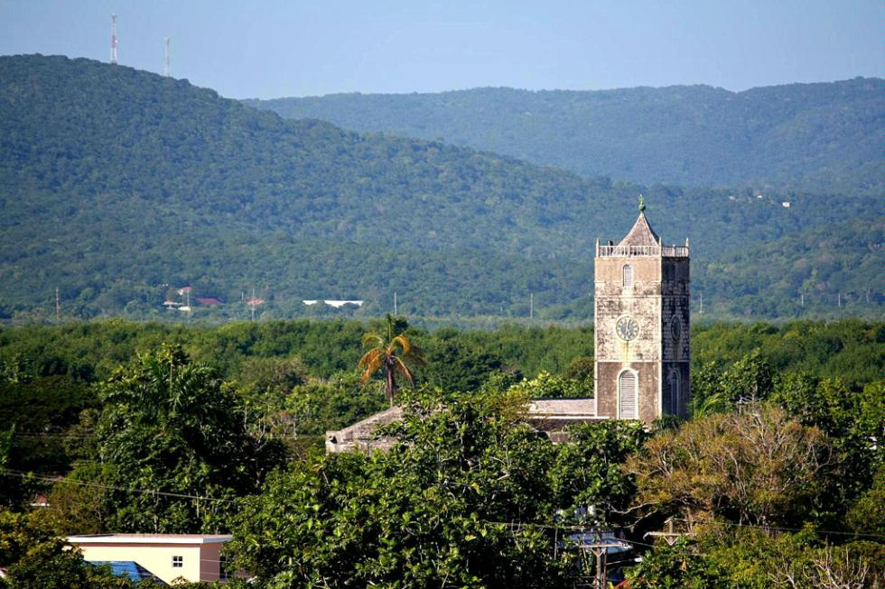 St. Peter's Anglican Church in Falmouth, Jamaica.