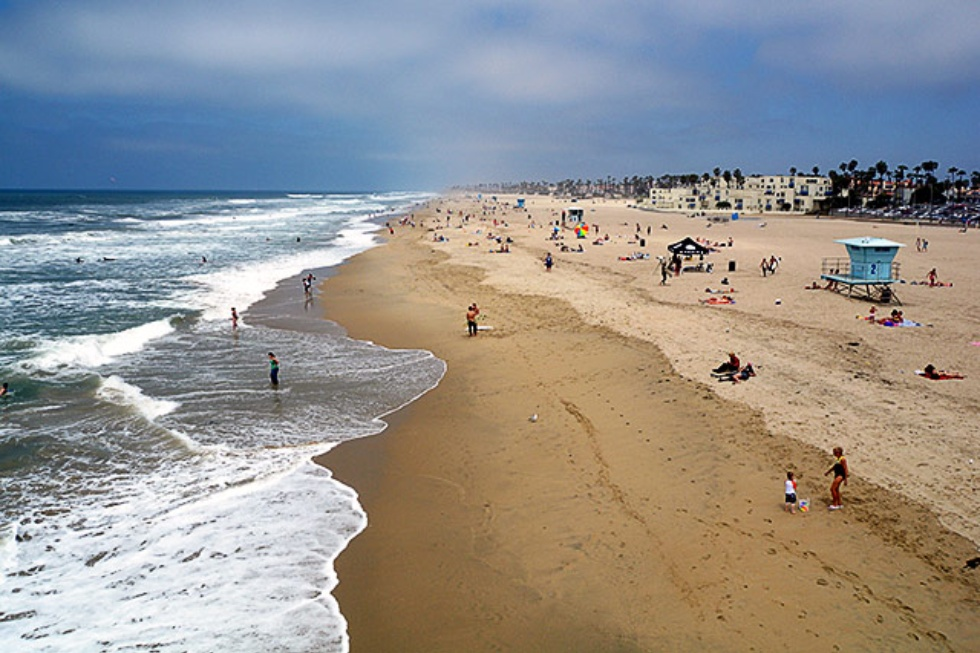 Huntington State Beach, California