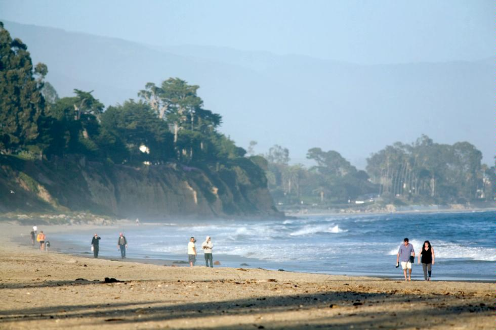 East Beach in Santa Barbara, California