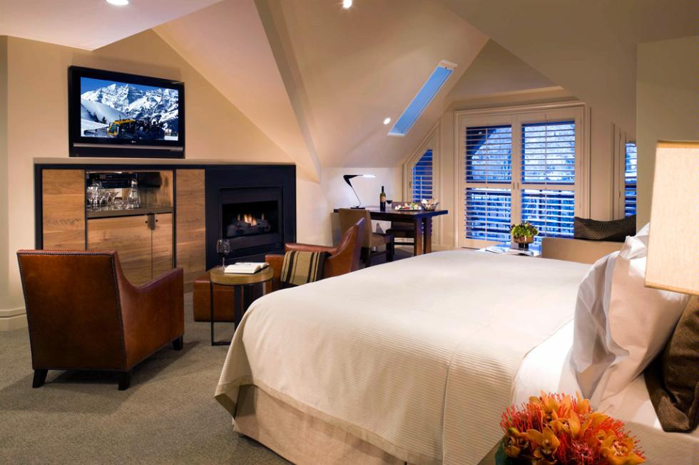 Premium Mountainside Room at The Little Nell, Aspen.