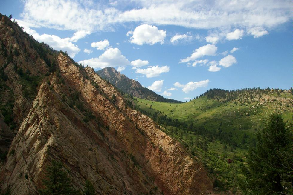 Eldorado Canyon State Park in Boulder, Colorado