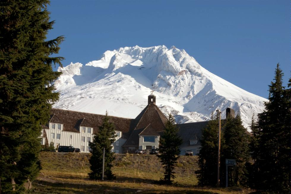 Timberline Lodge, Mount Hood.