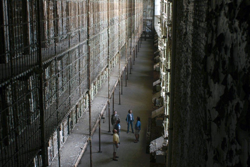 Cell blocks in the Ohio State Reformatory
