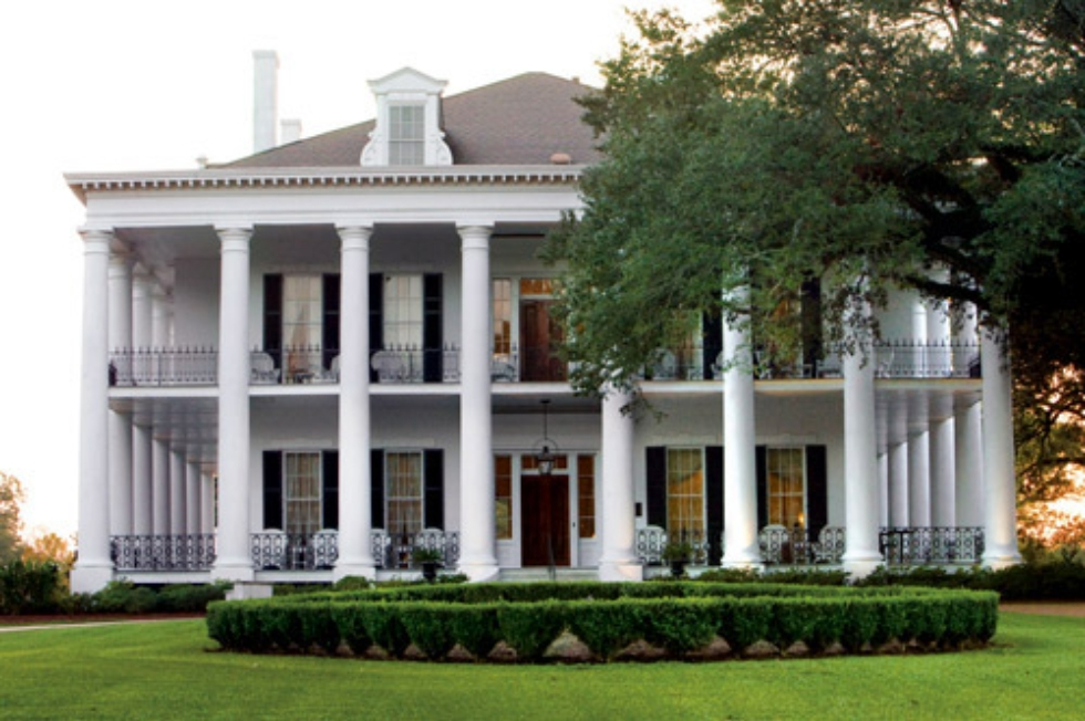 The Castle at Dunleith Plantation, Natchez, Mississippi. Photo: Southern Living Off the Eaten Path