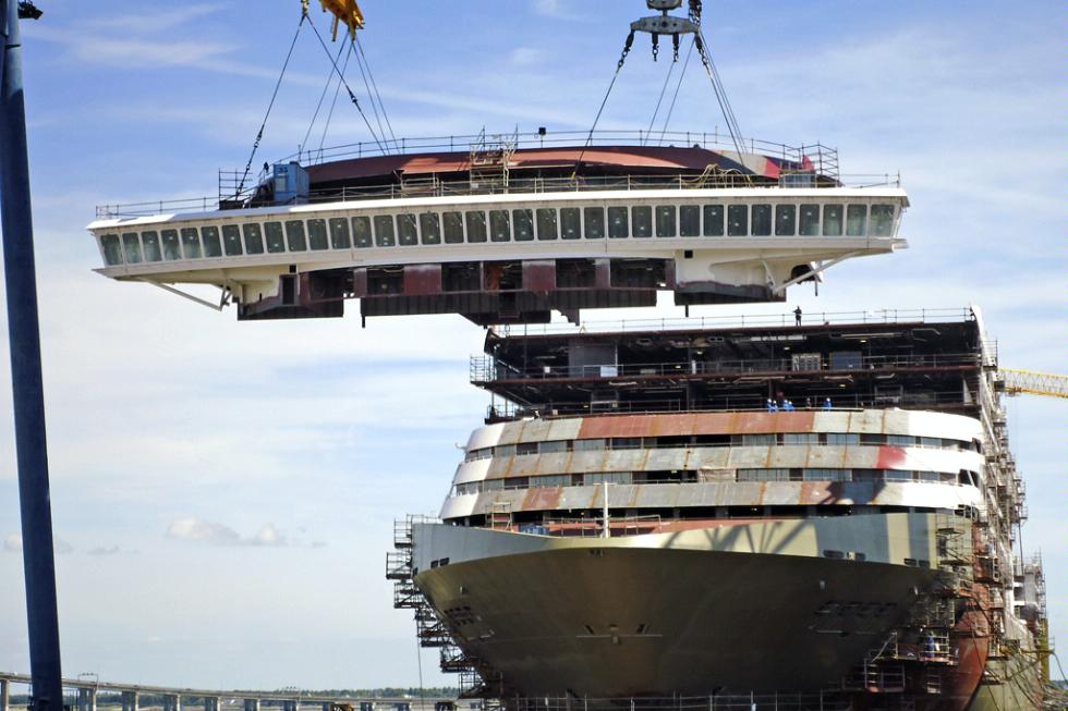 New construction on the MSC Divina, to debut in 2012.