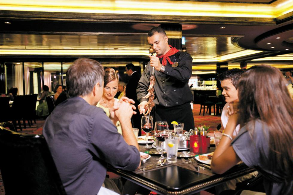 Moderno Churrascaria aboard Norwegian Cruise Line.