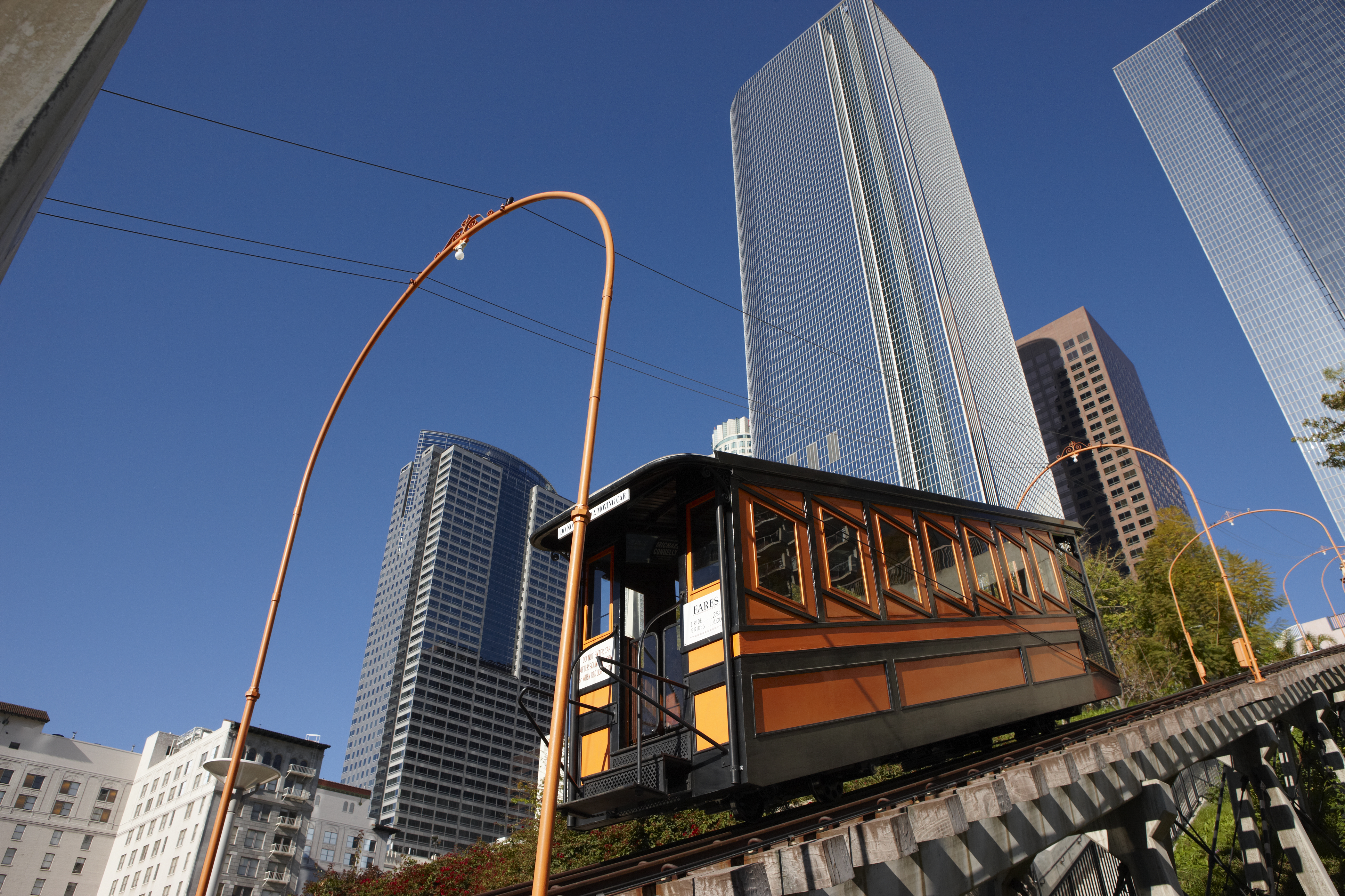 "L.A.'s Angels Flight Railway, Featured in ""La La Land,"" Reopening After Four Years 